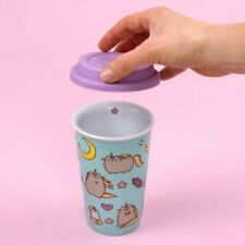 Pusheen Travel Mug Pattern - Thumbs Up - THUP-1001857