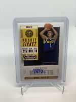 2018-19 Panini Contenders Rookie Ticket Michael Porter Jr RC Jersey Nuggets 5/10