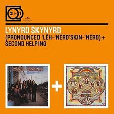 Lynyrd Skynyrd ~ Pronounced + Second Helping NEW 2CD 70's ROCK MUSIC / Freebird