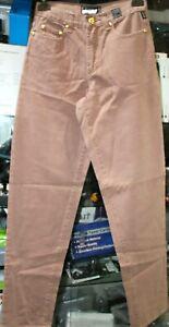 Versus Jeans Couture By Gianni Versace Men Denim Lion Head Buttons-Sz It 42/28