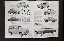 1958-59 Ford English Market Car Sales Brochure Catalog Zodiac Zephyr Consul