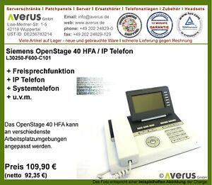 Siemens OpenStage 40 HFA / iceblue / IP Systemtelefon / Rg. incl. MwSt.