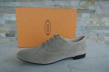 Tods Tod´s Gr 37 Schnürschuhe Halbschuhe Schuhe Shoes beige neu UVP 320 €