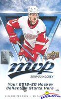 2019/20 Upper Deck MVP Hockey HUGE Factory Sealed HOBBY Box-160 Cards