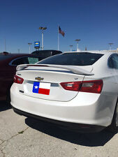 Fits: Chevrolet Malibu 2016+ 2-Post Rear Spoiler Painted With LED Made in USA