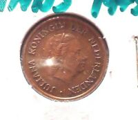 CIRCULATED 1975 5 CENT NETHERLANDS COIN! (71215)