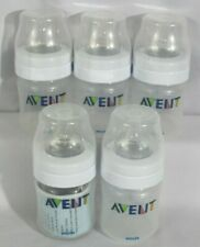 Avent Lot of 5 Baby Bottles 4 oz. Complete