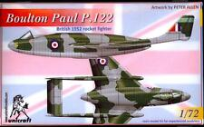 Unicraft Models 1/72 BOULTON PAUL P.122 British Jet Fighter Project