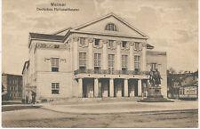 alte AK Weimar 1923, Deutsches Nationaltheater