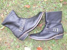 CAT Caterpillar Ladies Biker Ankle Boots Black Size 5 / 38