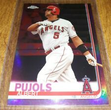 New listing Albert Pujols 2019 Topps Chrome Pink Refractor Los Angeles Angels