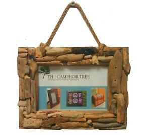 Rustic Driftwood wall hanging 6 x 4 inch photo picture frame