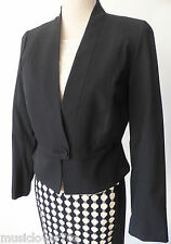 VERONIKA MAINE Women's Jacket rrp $349.00 Black Size 10  US 6 Made in Australia
