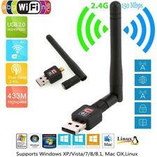 CLE WIFI USB NEUVE ANTENNE 150 MBPS WIRELESS SANS FIL Dongle Wifi 802.11 N/B/G F