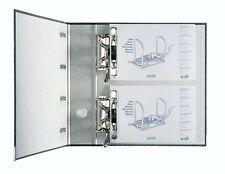 Leitz Doppelordner 1092 schwarz 2 x DIN A5 quer 75mm für Kontoauszüge