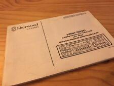 Sherwood XRM-3830 autoradio cassette notice utilisation mode d' emploi