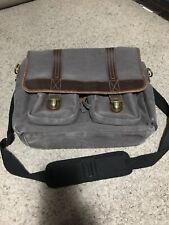 Kelly Moore Bag Green Canvas, Camera Bag, Overnight Bag, Baby Bag, W Strap