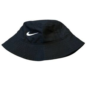 Nike Bucket Hat Toddler UPF 40+ Black Chin Strap