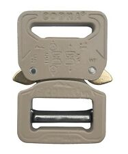 "AustriAlpin 25mm / 1"" Desert Sand Cobra Buckle - (Male Adjust Fem Fixed) FC25SVF"