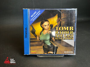 Tomb Raider The Last Revelation Sega Dreamcast Boxed Complete PAL
