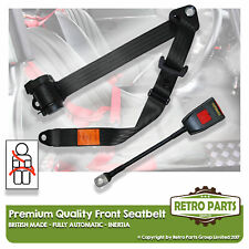 Front Automatic Seat Belt For Daihatsu Charade Hatchback 5dr 1978-1993 Black