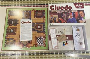 CLUEDO RETRO SERIES 1986 EDITION BOARD GAME - HASBRO 2014 (100% COMPLETE)
