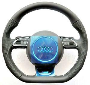 Audi A3 S3 RS3 8V A1 8X RS Q3 8U S Line Flat Bottom Multifunction steering wheel