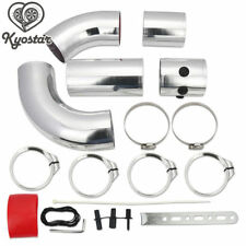 Universal 3 Inch Aluminium Air Filter Turbo Intake Intercooler Piping Pipe 5pcs