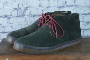 FitFlop - Men's Green Suede Chukka Boots - Sz UK 7 - Superb Condition