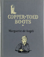 Vintage Children's Book COPPER-TOED BOOTS Marguerite de Angeli Hardcover