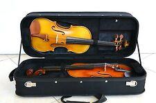 Wooden Violin Case for 2 piece Violins VT-096 Wine Black Color