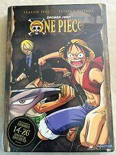 One Piece - Season 1 - Vol. 2: Second Voyage (DVD, 2008, 2-Disc Set, Uncut Unedi