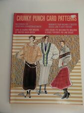 Machine Knitting chunky 12 stitch pattern book see photos for details