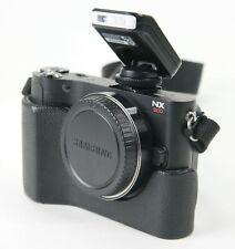 Samsung NX NX200 20.3MP Digital Camera - Black  Kit - No Lens