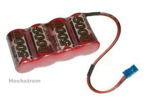 Leistungsstärkste Ni-Mh Empfängerakku XCell SCR 4.8V5000mAh, Stecker frei wählen