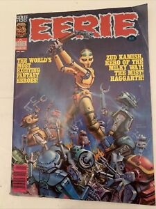 EERIE Magazine #120 , April 1981, Worlds Most Exciting Fantasy Warren Publishing