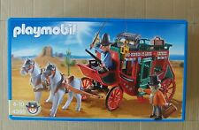 PLAYMOBIL 4399, WESTERN STAGECOACH WITH DRIVER AND BANK MANAGER, MISB