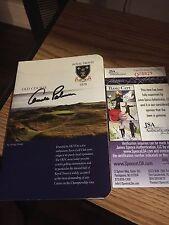 Arnold Palmer 1962 British Open Signed Royal Troon Scorecard JSA