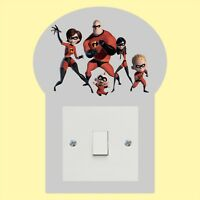 The  Incredibles_Light Switch_ Wall Art _Funny Decal Vinyl Sticker