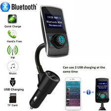 Car FM Transmitter Wireless Bluetooth Handsfree Kit MP3 Player USB Charger.