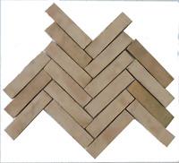 1m² Bejmat natur 20x5x2cm Cotto Terrakotta Bodenplatten Brik Brikett Fischgrät