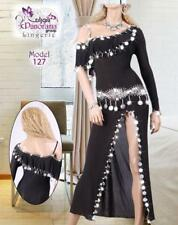 Egyptian  Belly Dance Dress, Saidi Costume,Baladi Galabeya