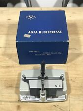 Vintage AGFA Klebepresse N8 8mm Film Splicer In Original Box
