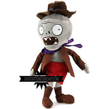 Plants against zombies cowboy plush vs 2 plush west toy new