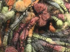 Plymouth Yarn Montagna #764 Sage Chianti Charcoal Kumquat Wool Alpaca Bl 100Gram