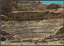 Jordanien Jordan used Post Card Postkarte bauwerk building Petra [cm610]