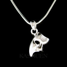 ~The Phantom of the Opera Broadway Theater Masquerade Mask Unisex Charm Necklace