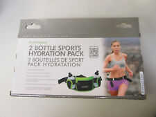 PurAthletics 2 Bottle Sports Hydration Pack
