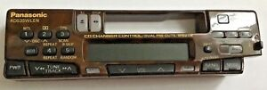 Panasonic RD535WLEN tape player Stereo used Faceplates Old School Car Audio