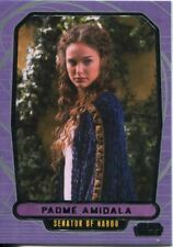 Star Wars Galactic Files Series 1 Base Card #35 Padme Amidala